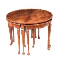 CIRCULAR NEST OF TABLES at Ross's Auctions