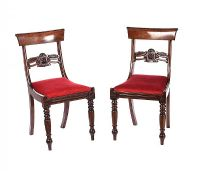 PAIR OF REGENCY SIDE CHAIRS at Ross's Auctions