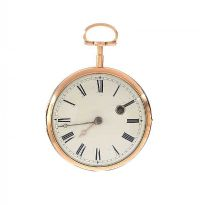 14CT GOLD GENT'S OPEN-FACED POCKET WATCH at Ross's Jewellery Auctions
