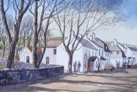MCBRIDES PUB, CUSHENDUN by Susan Forth at Ross's Auctions