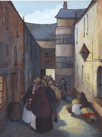 JOY'S ENTRY, OLD BELFAST by Phyllis Arnold UWA MSM at Ross's Auctions