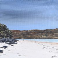 SUMMER STORM SKY, MORAR SANDS by Stuart Herd at Ross's Auctions
