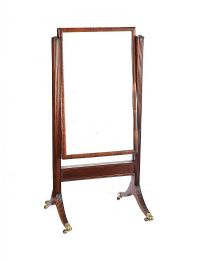 REGENCY CHEVAL MIRROR at Ross's Auctions