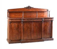 WILLIAM IV FOUR DOOR SIDE CABINET at Ross's Auctions