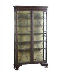 GLAZED TWO DOOR BOOKCASE at Ross's Auctions