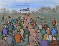 GOING TO CHURCH by Gladys Maccabe HRUA at Ross's Auctions