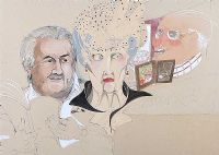 OLD PEOPLE, 1970 by Pauline Bewick RHA at Ross's Auctions