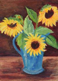 SUNFLOWERS by Cara Games at Ross's Auctions