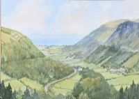 GLENARIFF, COUNTY ANTRIM by Susan Forth at Ross's Auctions