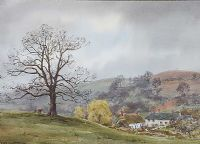 A FARM IN THE HILLS by Frank Egginton RCA FIAL at Ross's Auctions