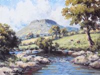 RIVER DALL, CUSHENDALL by Charles McAuley at Ross's Auctions