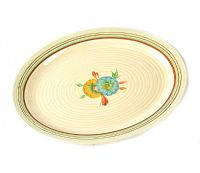 CLARICE CLIFF PLATE at Ross's Auctions