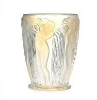 RENE LALIQUE DANAIDES GLASS VASE at Ross's Auctions