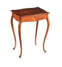 BURR WALNUT OCCASIONAL TABLE at Ross's Auctions