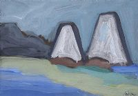 GABLE ENDS by Markey Robinson at Ross's Auctions