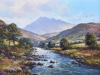 SHIMNA RIVER, MOURNES by William Yeaman at Ross's Auctions