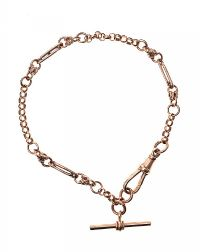 9CT ROSE GOLD BRACELET at Ross's Auctions