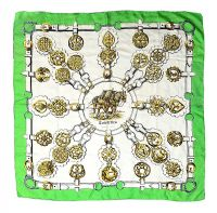 HERMES 'GUIVRERIES' SILK SCARF at Ross's Auctions