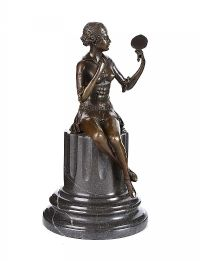DECO STYLE FIGURE at Ross's Auctions