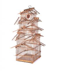 WOODEN BIRD CAGE at Ross's Auctions