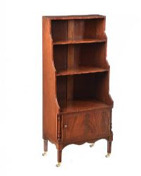 EDWARDIAN MAHOGANY BOOKCASE at Ross's Auctions