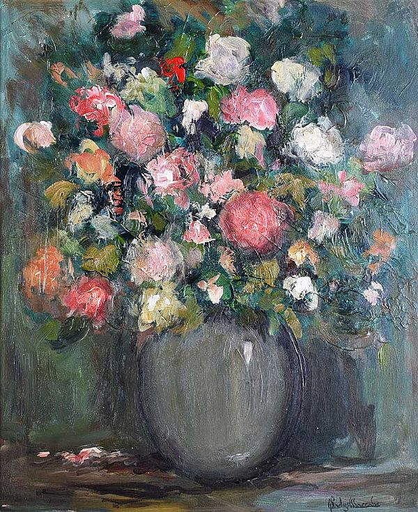 SUMMER FLOWERS by Gladys Maccabe HRUA at Ross's Online Art Auctions