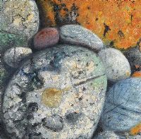 SHORE STONES, BERTRA STRAND, COUNTY MAYO by Fionntan Gogarty at Ross's Auctions