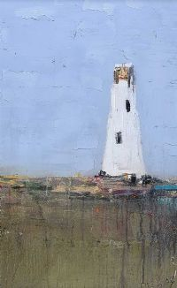 THE LIGHTHOUSE by Colin Flack at Ross's Auctions