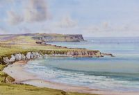 WHITEPARK BAY, COUNTY ANTRIM by Alymer E. Armstrong UWS at Ross's Auctions
