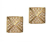 14CT GOLD DIAMOND EARRINGS at Ross's Jewellery Auctions