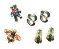 SUITE OF ENAMEL COSTUME JEWELLERY at Ross's Jewellery Auctions