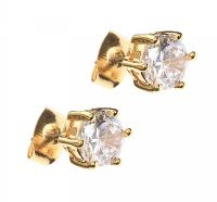 CUBIC ZIRCONIA EARRINGS at Ross's Jewellery Auctions