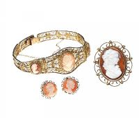 COLLECTION OF CAMEO JEWELLERY at Ross's Jewellery Auctions