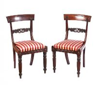PAIR WILLIAM IV SIDE CHAIRS at Ross's Auctions