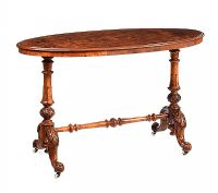 VICTORIAN WALNUT CENTRE TABLE at Ross's Auctions