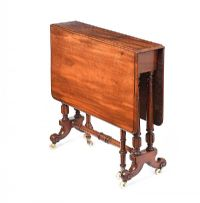 VICTORIAN MAHOGANY SUTHERLAND TABLE at Ross's Auctions