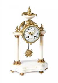 FRENCH MANTEL CLOCK at Ross's Auctions