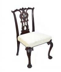 TWENTIETH CENTURY IRISH STYLE SIDE CHAIR at Ross's Auctions