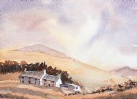 FARM BUILDINGS IN THE HILLS by M. Frost at Ross's Auctions