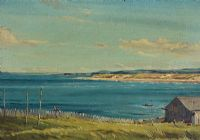 NORTH COAST OFF PORTSTEWART by Alymer E. Armstrong UWS at Ross's Auctions