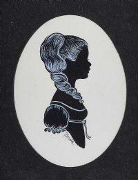 COSTUME SILHOUETTE by Phyllis Arnold UWS at Ross's Auctions