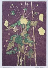 JAPANESE ANEMONE by Marion Anderson at Ross's Auctions