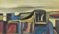 LANDSCAPE, MOUNTAIN & SHORE by David Crone RHA RUA at Ross's Auctions