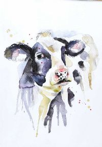 COW by Elle Smith at Ross's Auctions