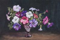 STILL LIFE, FLOWERS by E.M. Stevenson at Ross's Auctions