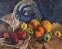 STILL LIFE, FRUIT by William Henry Fry at Ross's Auctions
