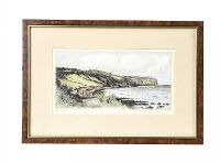 COLOURED ENGRAVING CRESSWELL BOAK at Ross's Auctions