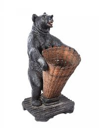 NINETEENTH CENTURY BLACK FOREST BEAR UMBRELLA STAND at Ross's Auctions