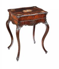 ANTIQUE ROSEWOOD VANITY TABLE at Ross's Auctions