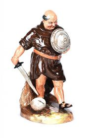 ROYAL DOULTON FIGURE FRIAR TUCK at Ross's Auctions